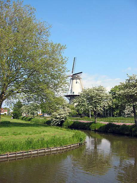 Molen 'Windlust'  Wateringen
